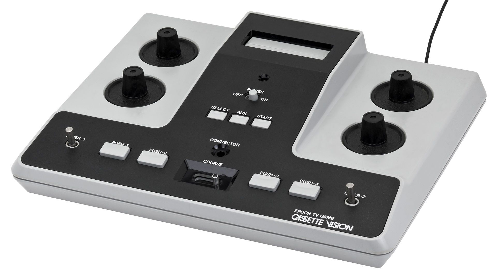 Epoch Cassette Vision video game console. Japanonly Atari