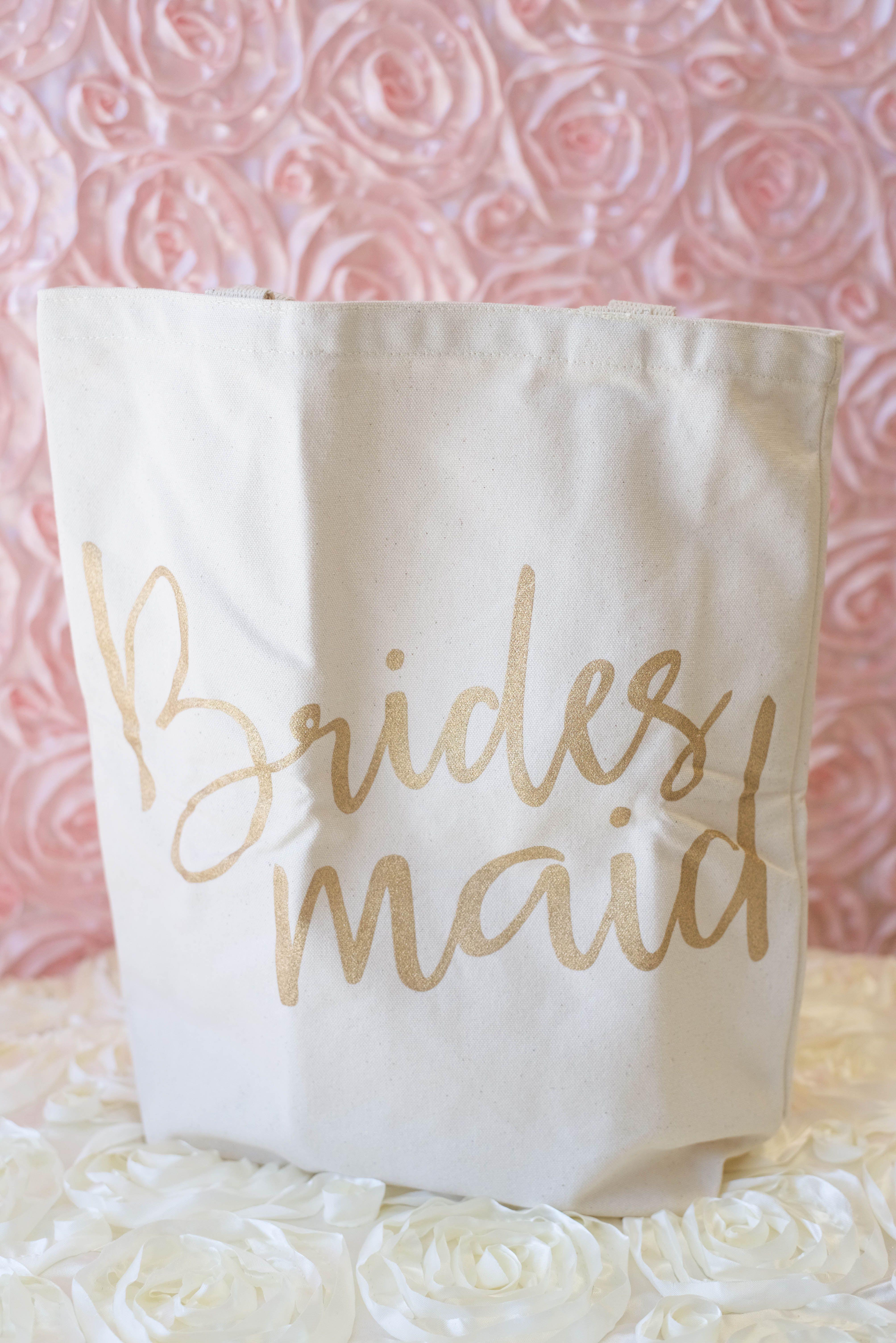 Bridesmaid Tote Bridal Party Gift Ideas