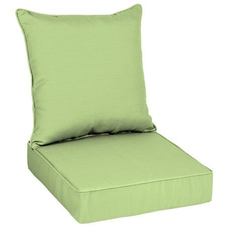 better homes gardens mint sage 48 x 24 in deep seat cushion set rh pinterest com
