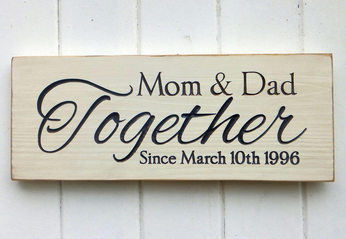 Wedding anniversary signs u craftypenguin