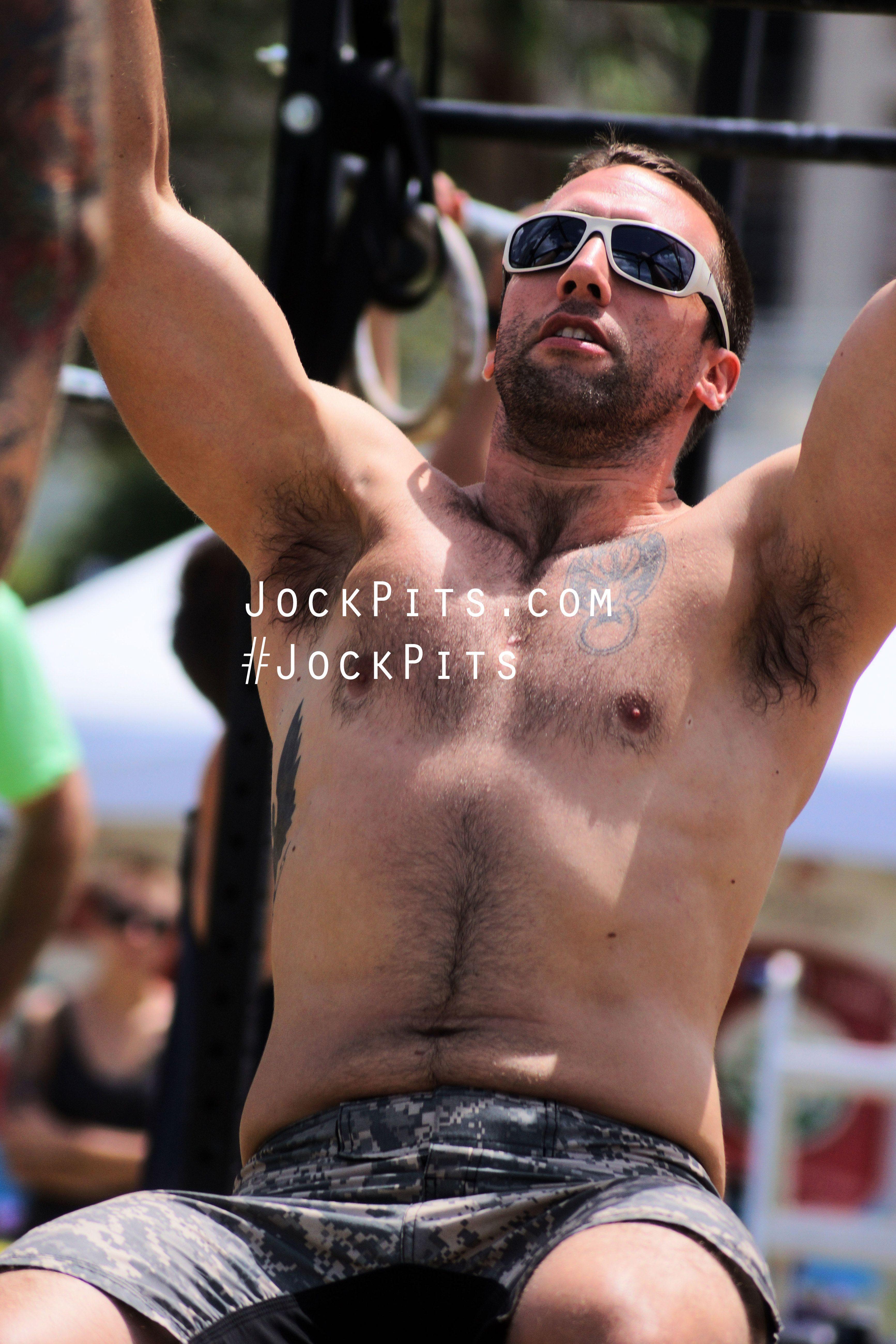 Hairy armpits gay men