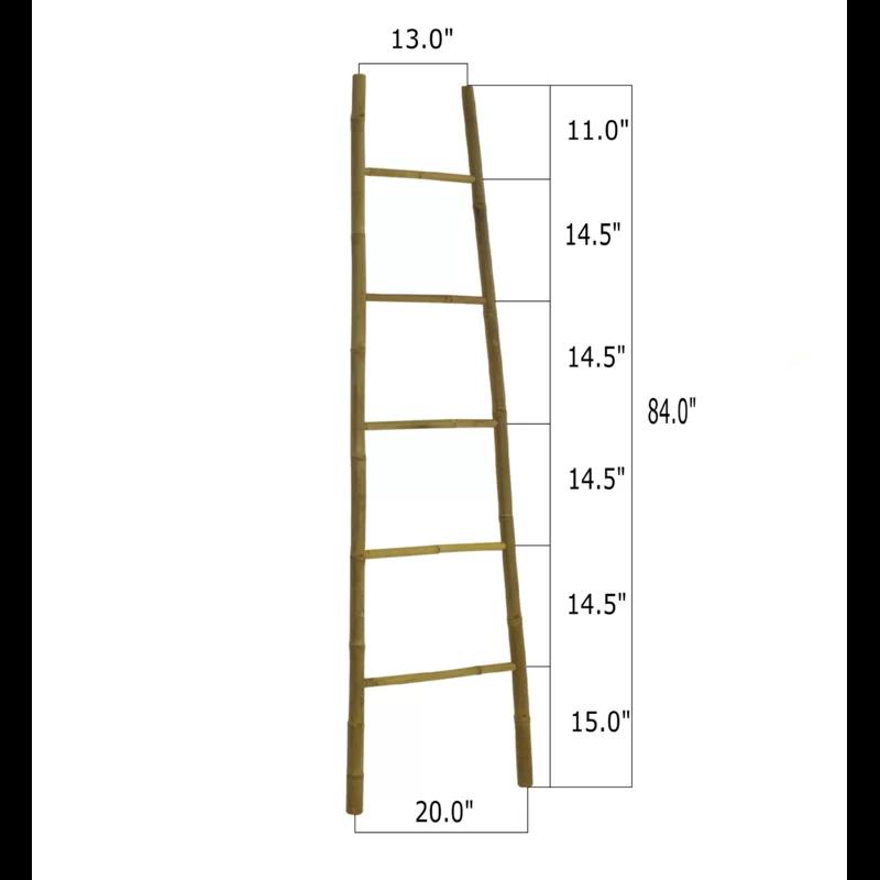 Bamboo Bath Towel 7 Ft Blanket Ladder Blanket Ladder Ladder Bath Towels