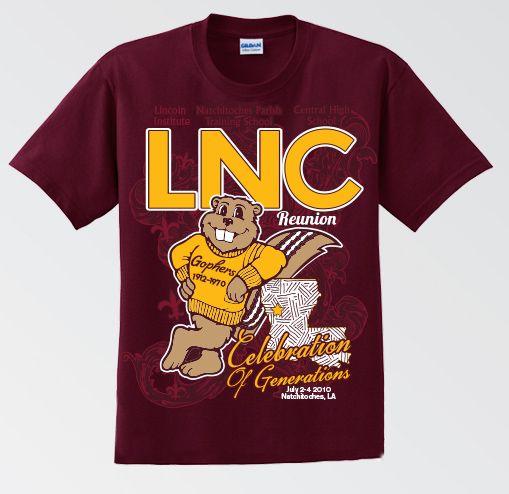 216853f6 LNC Reunion T-Shirt | Reunions | Mens tops, School reunion, T shirt