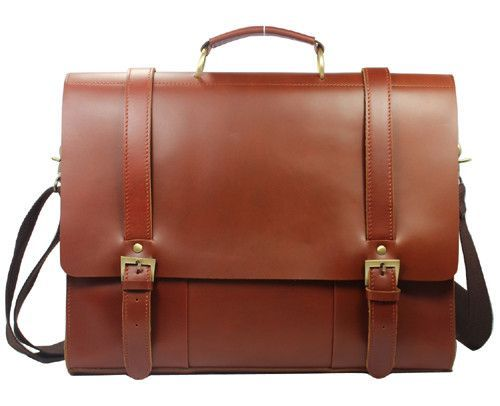 Luxury Genuine Leather Men Briefcase Leather laptop bag men ...