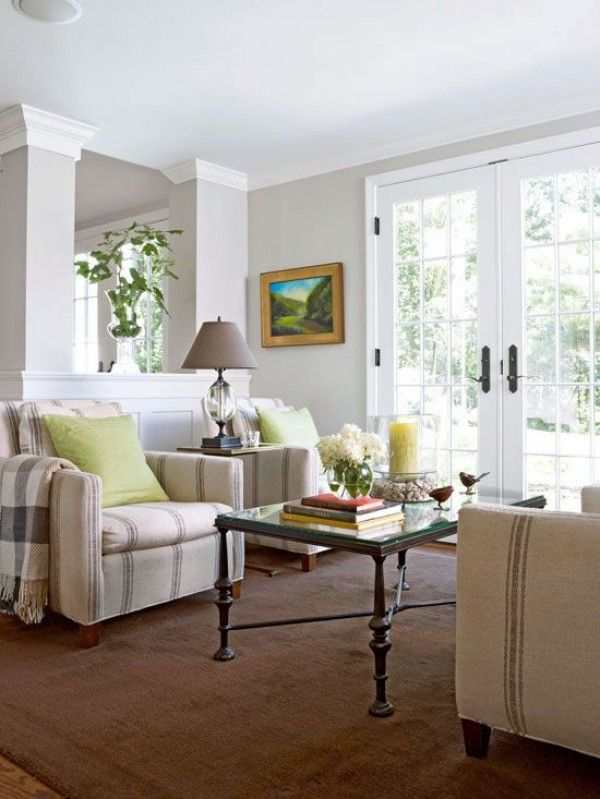 10 Simple Home Decor Tips to Make Any Room Look Instantly Bigger - tapeten für wohnzimmer ideen