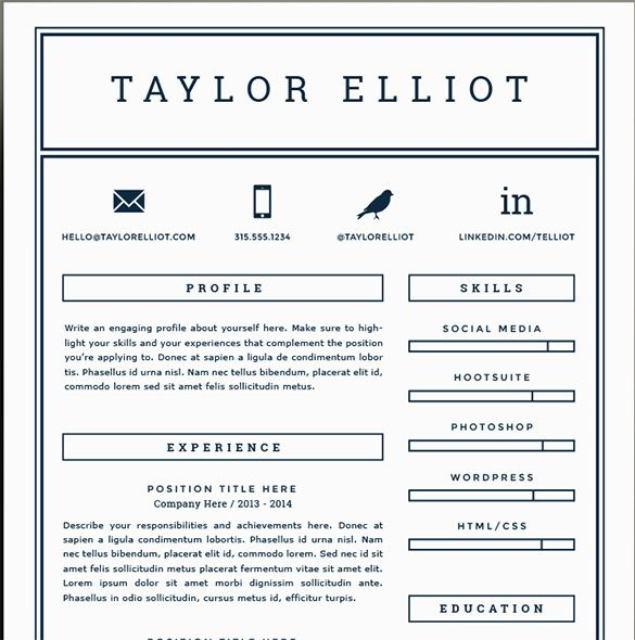 Debbie Danielson Resume A4 1 Resume Shop Pinterest Creative - free resume templates for pages