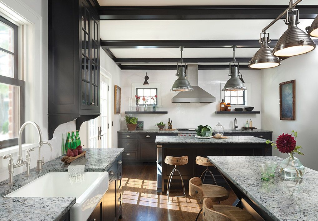 Industrial Style Rustic Modern Farmhouse Kitchen In