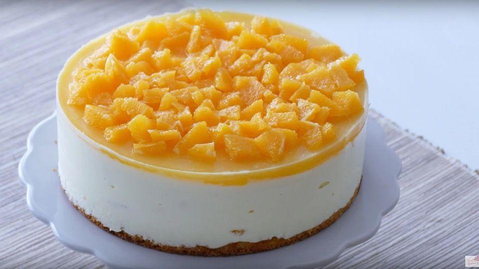 Orangen-Proseco Torte