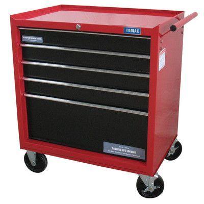 kodiak rolling wide 5 drawer bottom cabinet products tool box rh pinterest co uk