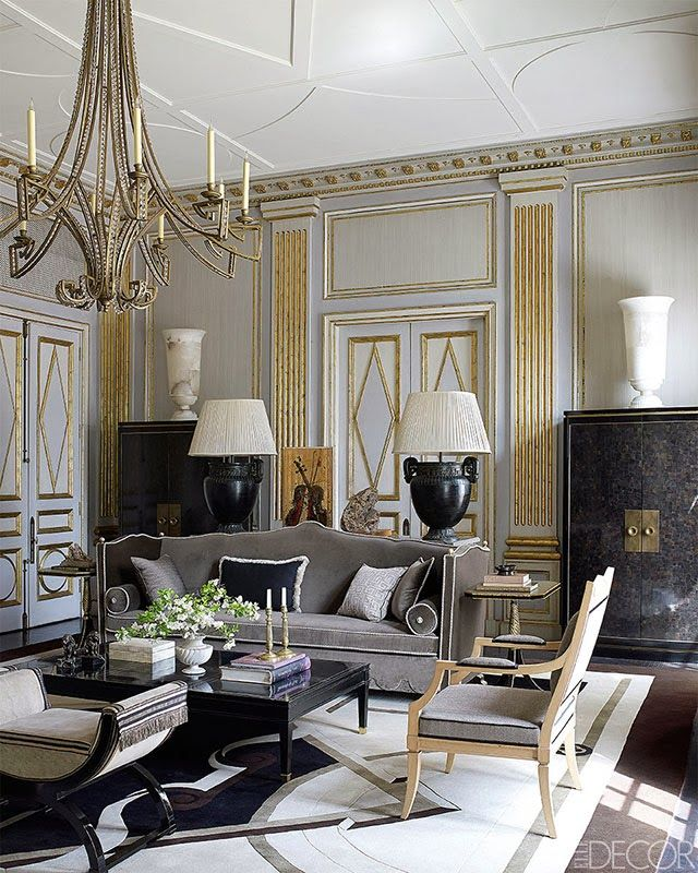 grey and gold decor - Google Search
