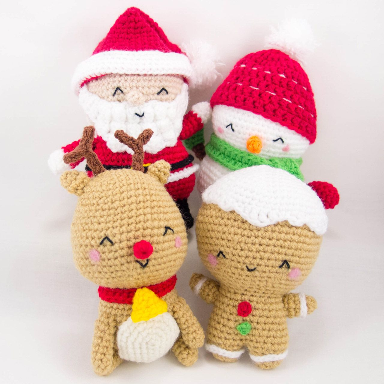 Christmas set patterns snacksies handicraft corner crochet christmas amigurumi crochet pattern pdf by snacksieshandicraft bankloansurffo Image collections