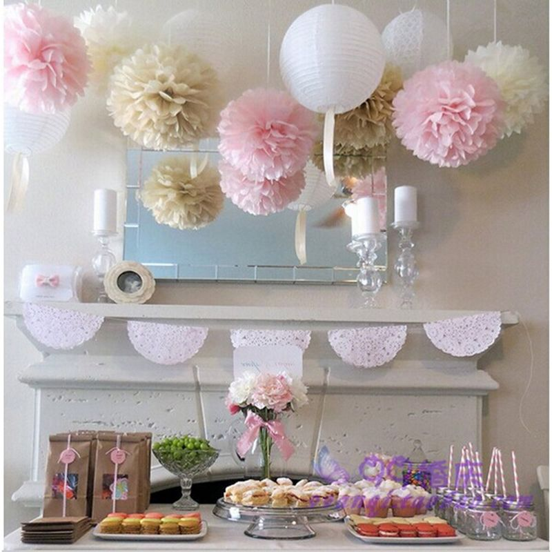 Cheap wedding crystal decoration buy quality wedding decorating cheap baby shower buy quality kids party supplies directly from china kids party suppliers wedding decoration tissue paper pom poms balls birthday kids junglespirit Images