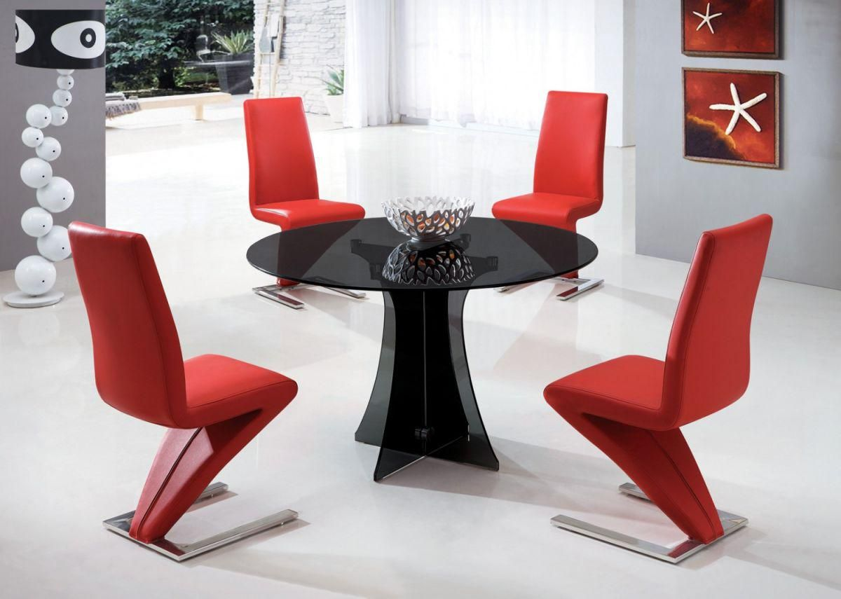 Pin By Bangun On Home Design Glass Round Dining Table Glass