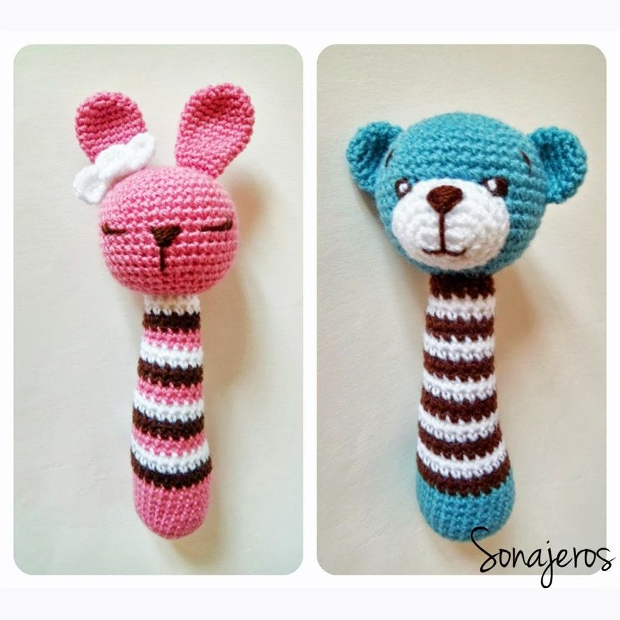 Patrón Sonajeros | Crocheting | Pinterest | Patrones, Patrones ...