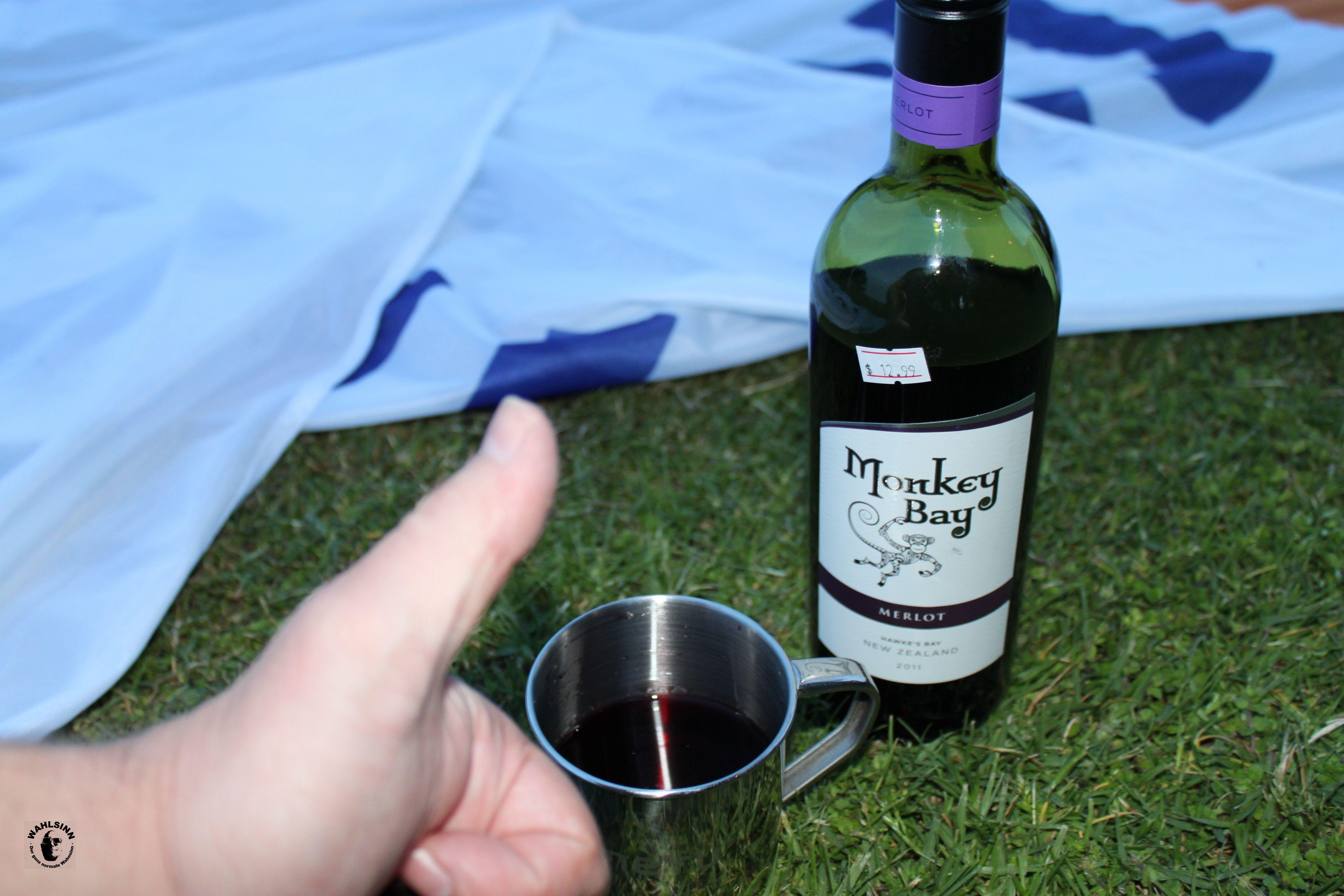 Neuseeland - Lecker Wein