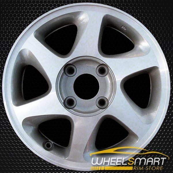 "15"" Nissan Altima OEM wheel 19982001 Silver alloy stock"
