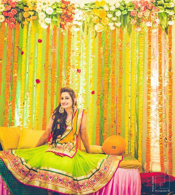 Flower Decoration - Haldi