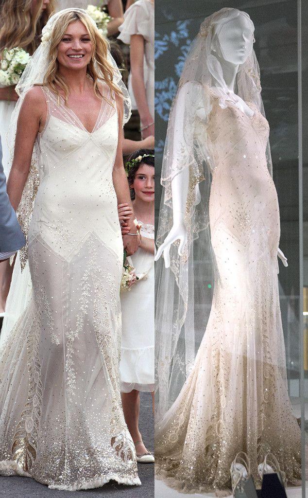 Gwen Stefanis Kate Moss Wedding Dresses Part Of Museum Exhibit