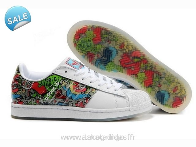 Officiel Adidas SUPERSTAR II Graffiti Superstar Suede Adidas Superstar 2 Homme