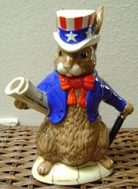 U.S President Bunnykins teapot