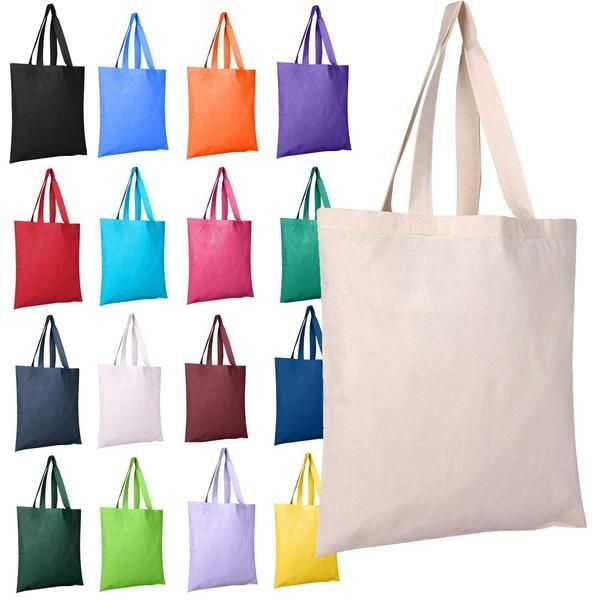 Individual promotional cotton tote bags in neutral or choose from a variety  of colors. Customize cotton tote bags with your own logo. ba7f68594ff11
