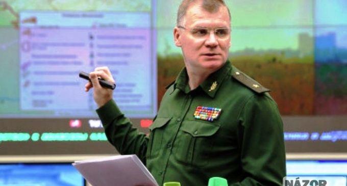 """Štátny department USA už """"unavili klamstvá"""", no pokračuje opakovať reči o """"zbombardovaných nemocniciach"""" v Sýrii, vyhlásil oficiálny predstaviteľ ruského ministerstva obrany Igora Konašenkova."""