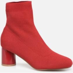 Photo of Only – Damen – Onlbimba Heeled Sock Bootie 15184252 – Stiefeletten & Boots – Rot Only