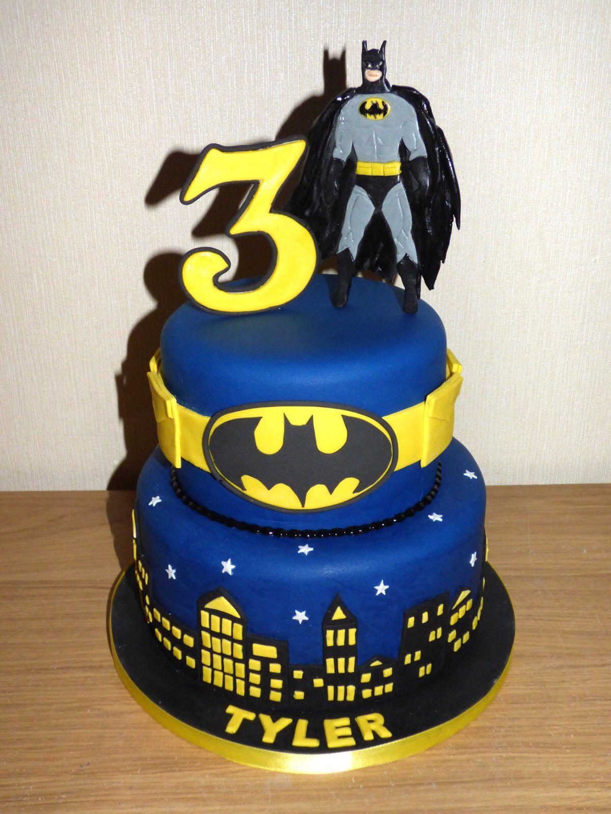 Batman Cake For Marcy Batman Birthday Cakes Batman