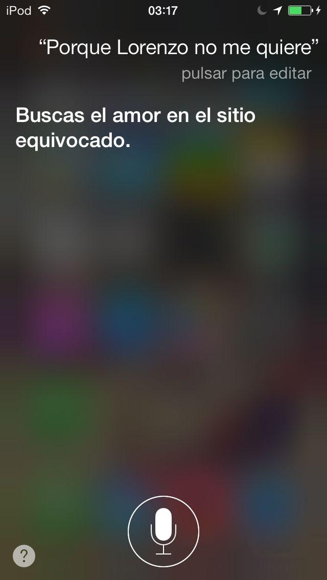 Siri me ha dado la respuesta!!