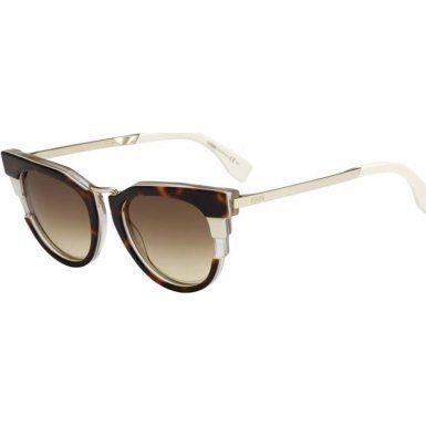 Womens FF 0063/S CC Cateye Sunglasses Fendi 6IvU32Y