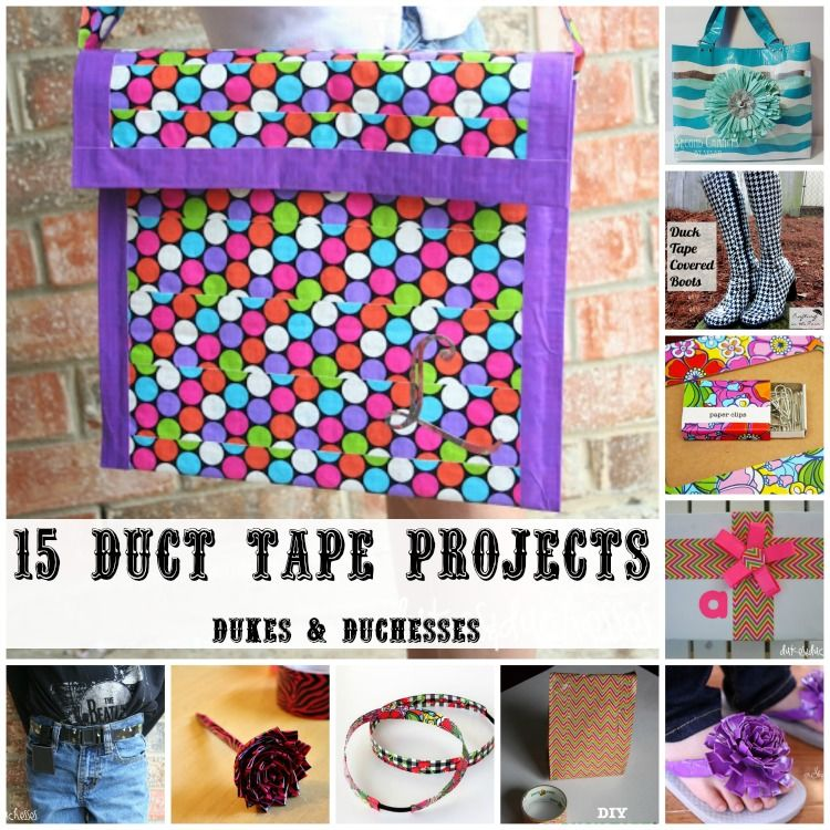 duct tape craft ideas easy 15 duct projects duct projects and duct 6477