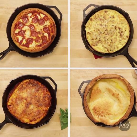 Easy Healthy Homemade Camping: 10 Things To Cook In A Cast-Iron Skillet : Food Network