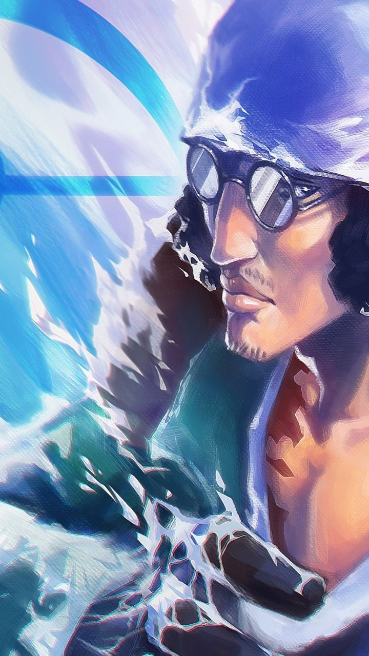 Kuzan, one piece, anime, 720x1280 wallpaper Anime