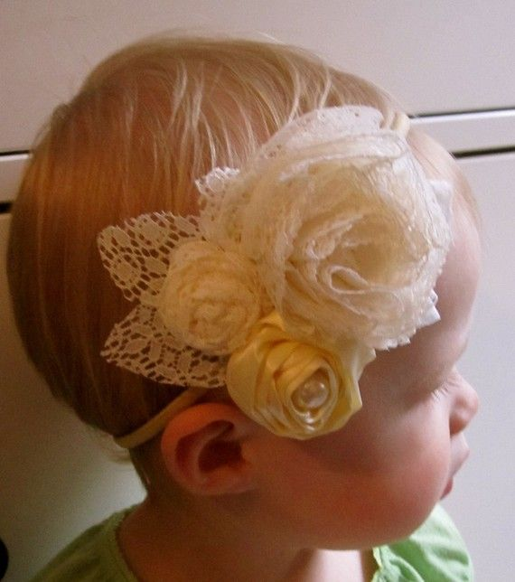 Aqua Over The Top Satin Couture Flower Headband Ruffled Headband Photo Prop Baby Girl and Adult Headband Newborn Hair Accessory Baby