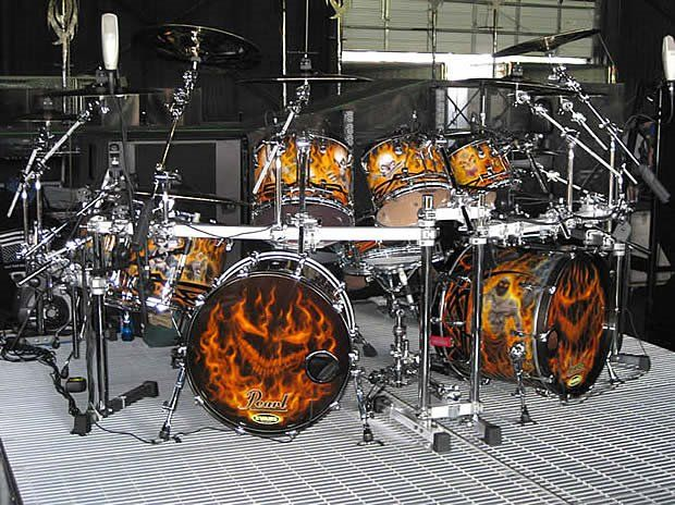 cool drum sets - Google Search   Drums - Cool Wrap Kits ...