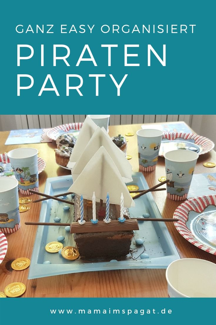 Photo of Ganz easy: Piratenschiff-Kuchen, Deko und Spiele für eine Piratenparty