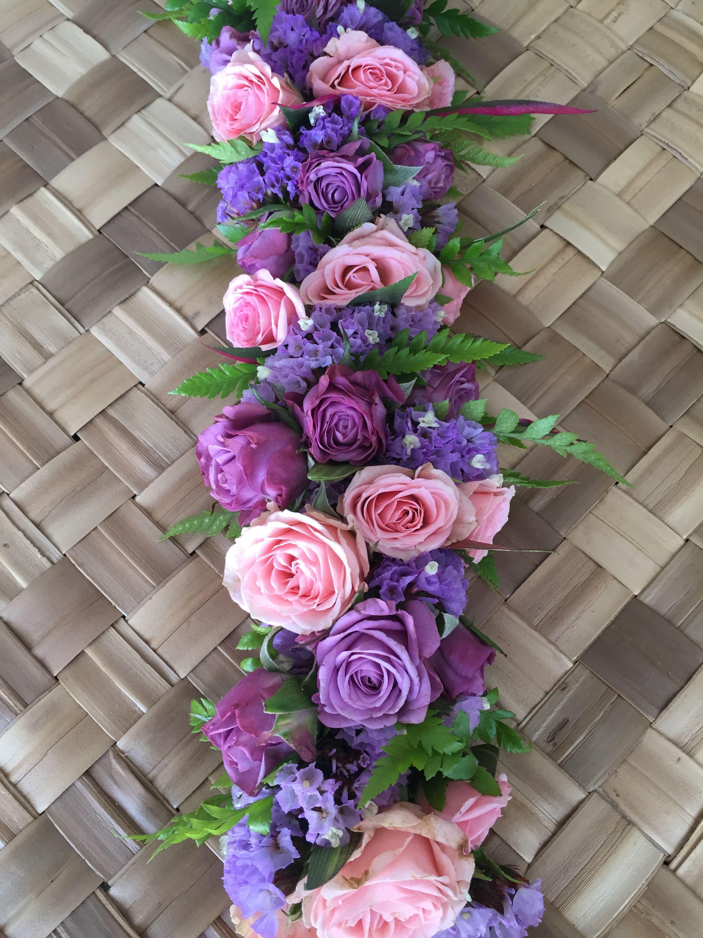 Pink And Purple Rose Haku Pink And Purple Flowers Purple Roses Flower Lei