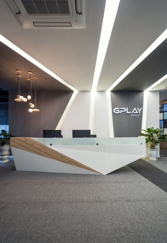 100+ modern reception desks design inspiration | reception desks