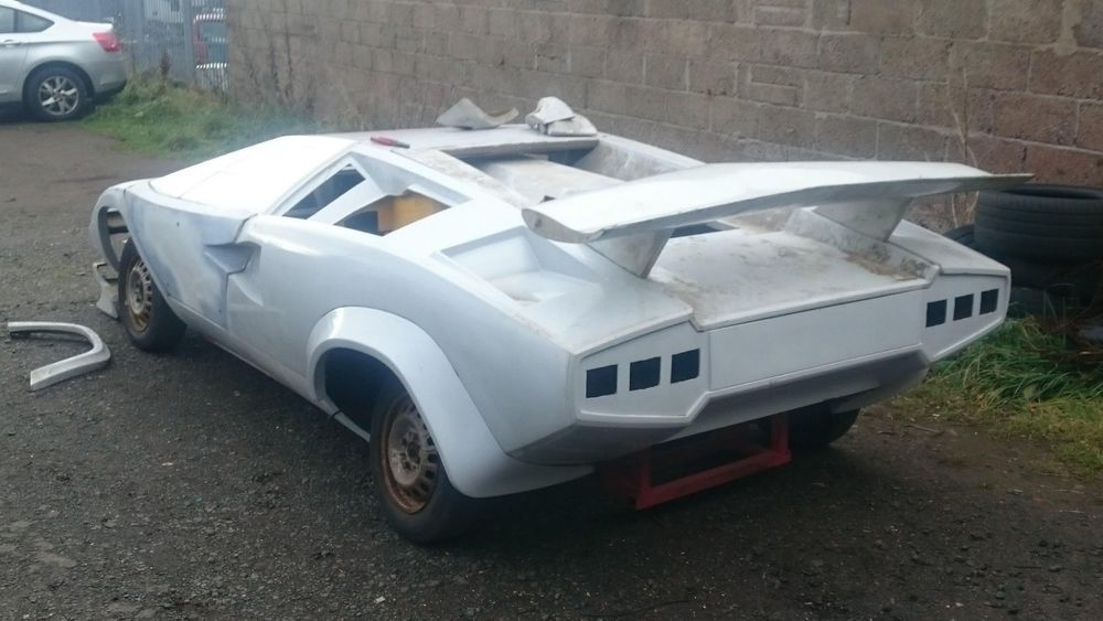 Ad Lamborghini Countach Kit Car Project Kit Cars And Replicas