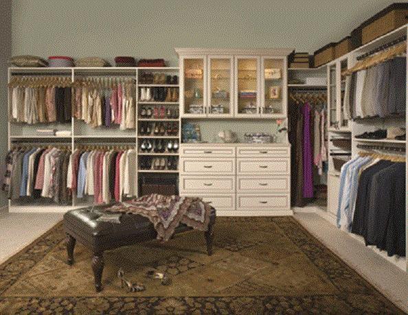 Beautiful Walk in Closet Organization Ideas
