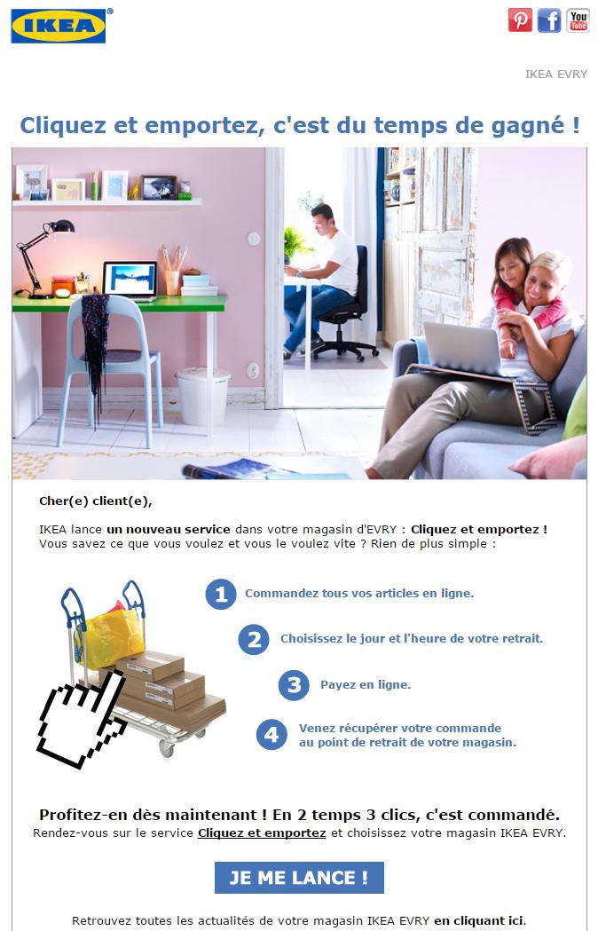 ikea mai 2015 objet nouveau service ikea cliquez et emportez emailing inspiration. Black Bedroom Furniture Sets. Home Design Ideas