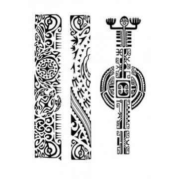 tatouages bracelets maori et polynesien autocollants 05 tatouages bracelet maori tatouage. Black Bedroom Furniture Sets. Home Design Ideas