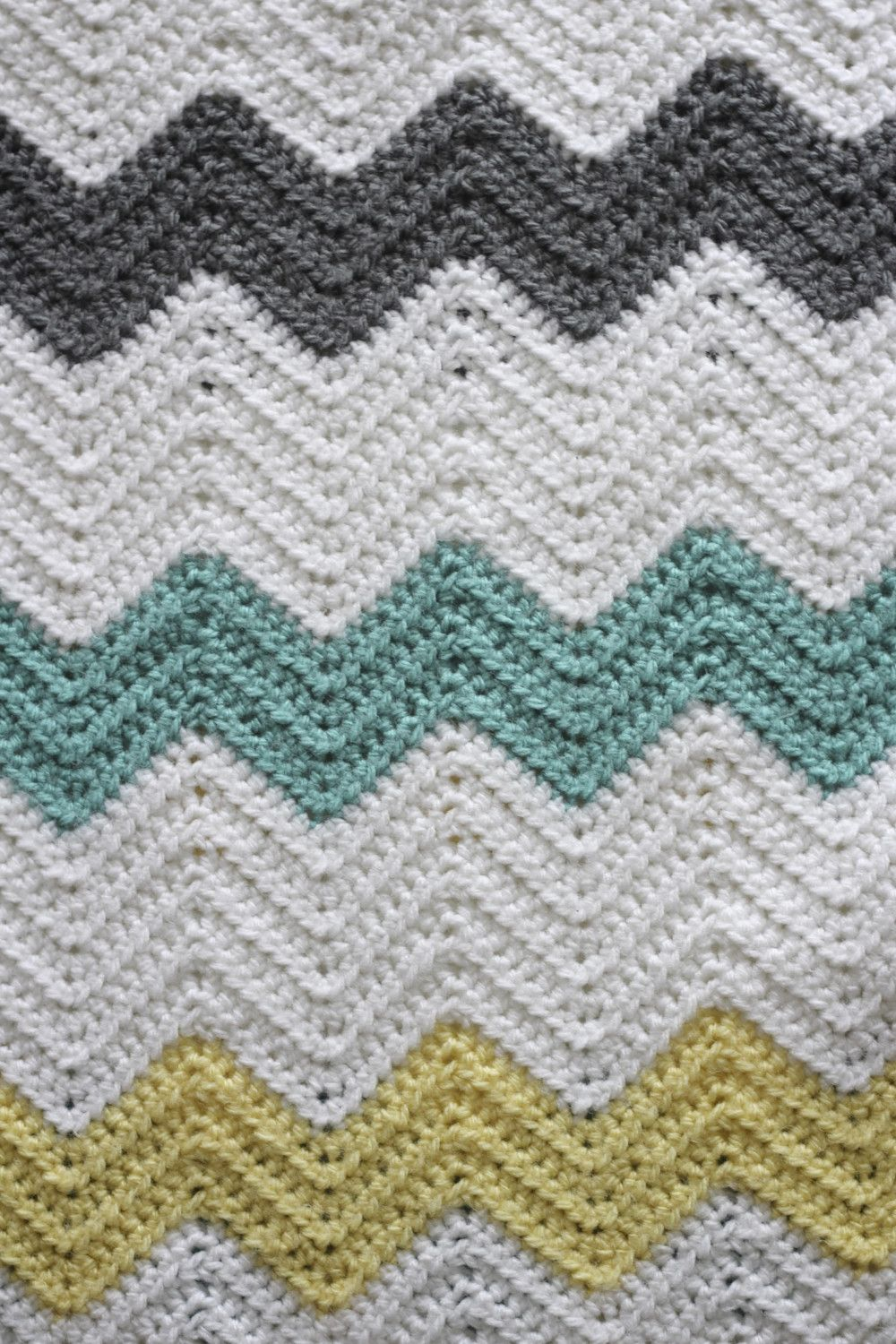 simple double crochet afghan pattern