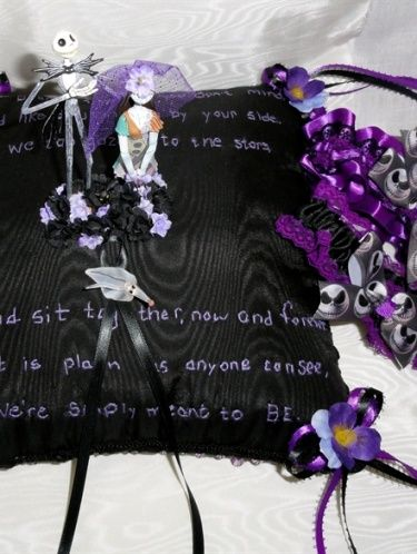 Nightmare before christmas wedding commission dark victorian nightmare before christmas wedding commission junglespirit Choice Image