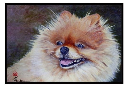 Pomeranian Head Mat