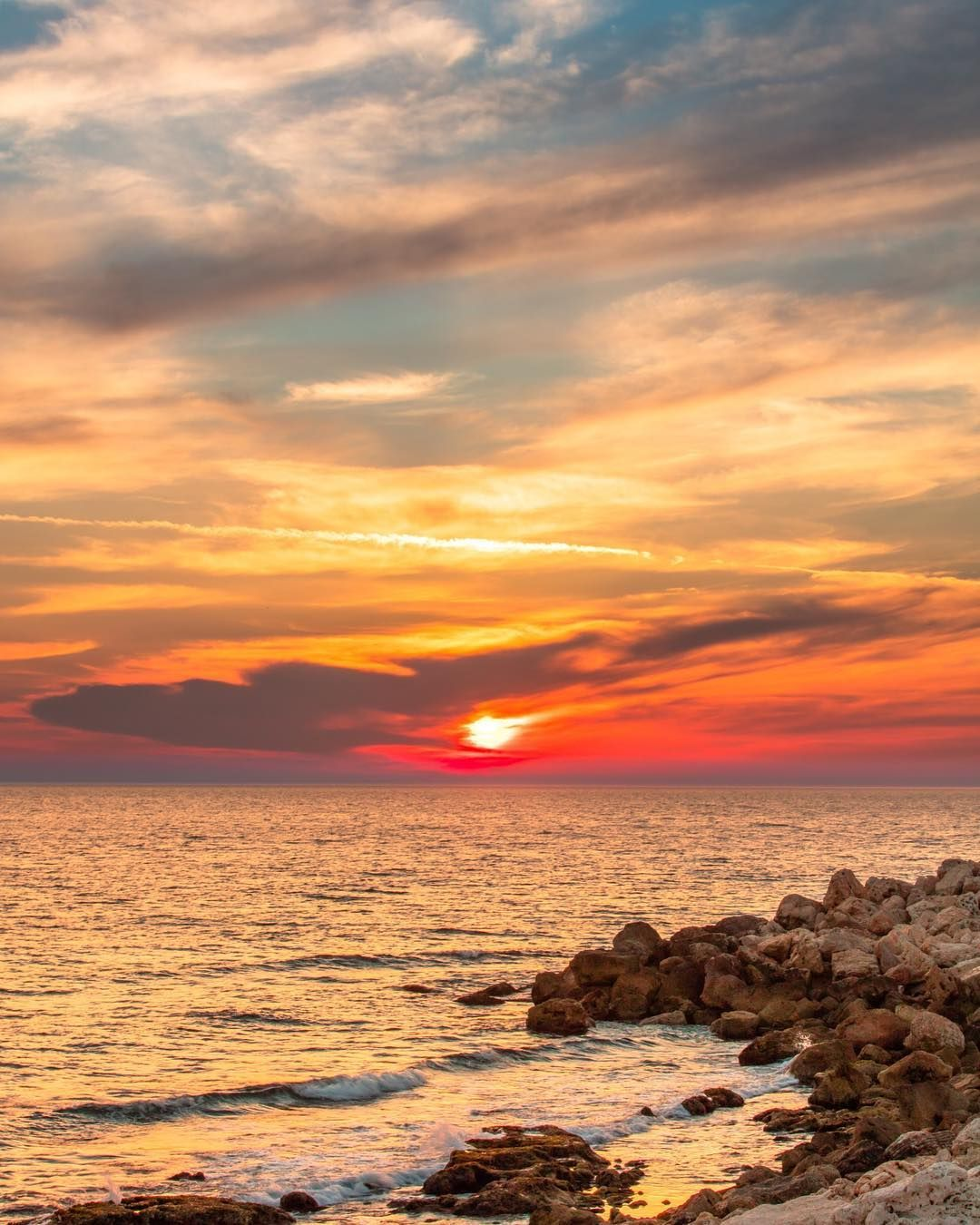 Byblos Lebanon Sunset Mediterranean Sea Beach Beautiful Horizon Sunsets Sky Clouds View Outdoors Happy Best Nature Photo Sunset Outdoor Clouds