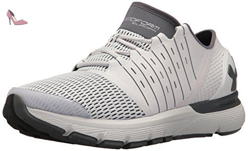 UA Charged Bandit 3, Chaussures de Running Homme, Gris (Glacier Gray 002), 44 EUUnder Armour