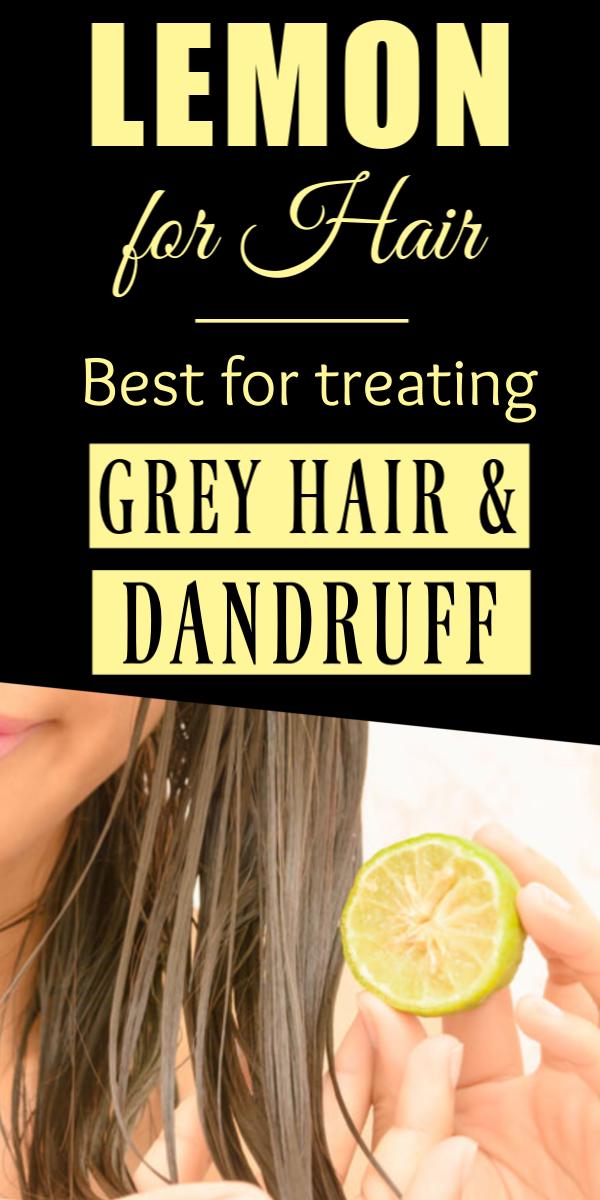 Lemon For Hair – How To Use Lemon Juice For Dandruff Hair ...