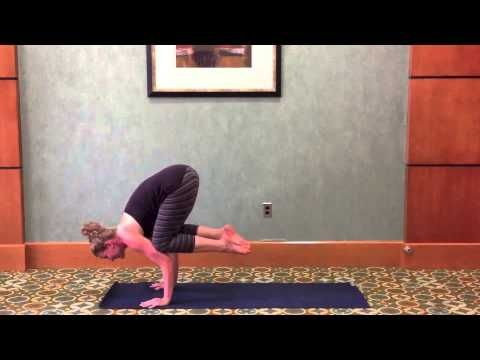 how to do a crow pose bakasana  yoga  youtube  yoga