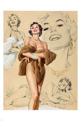 Pinup girls naked — img 11